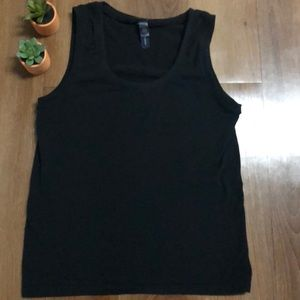 Banana Republic large, black stretchy tank